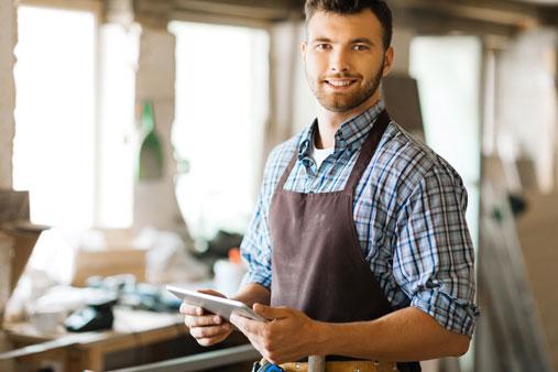 menu-happy-tradesman
